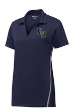 Load image into Gallery viewer, Sport-Tek® Contrast PosiCharge® Tough Polo with embroidery