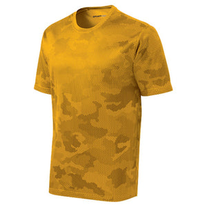 Sport-Tek® CamoHex Tee with HC Logo embroidery - Adult and Youth