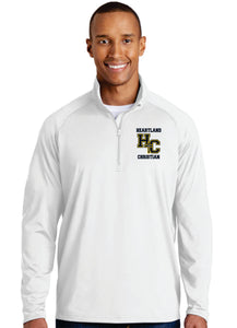 "**NEW** Sport-Tek® Sport-Wick® Stretch 1/2-Zip Pullover ""Coaches Pullover"" - Mens and Womens"