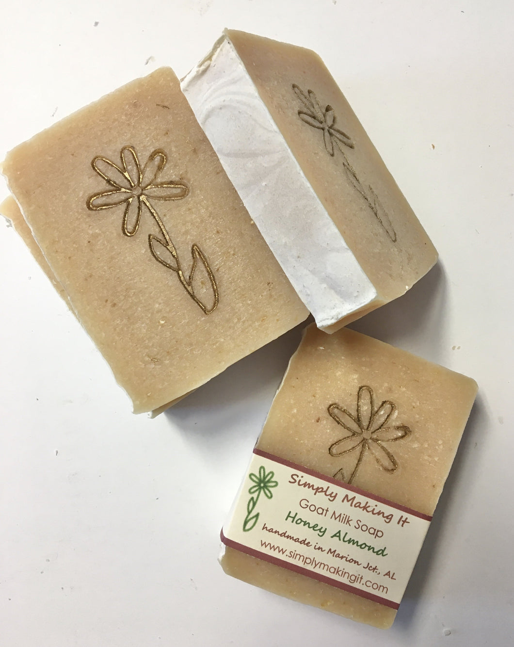 Honey Almond and Oats - Soap