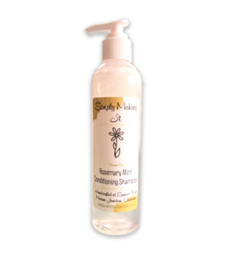 Rosemary Mint Conditioning Shampoo 8 oz