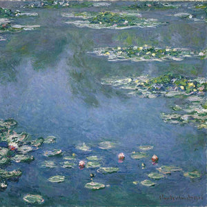 Claude Monet Water Lilies At Giverny