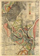 Load image into Gallery viewer, Fisk Mississippi River Map Sheet 1