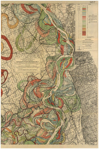 Harold Fisk Mississippi River Map Sheet 5