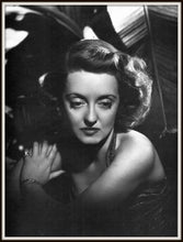Load image into Gallery viewer, Bette Davis Dark Victory Publicity Photo Reprint In A Simple Black Metal Frame