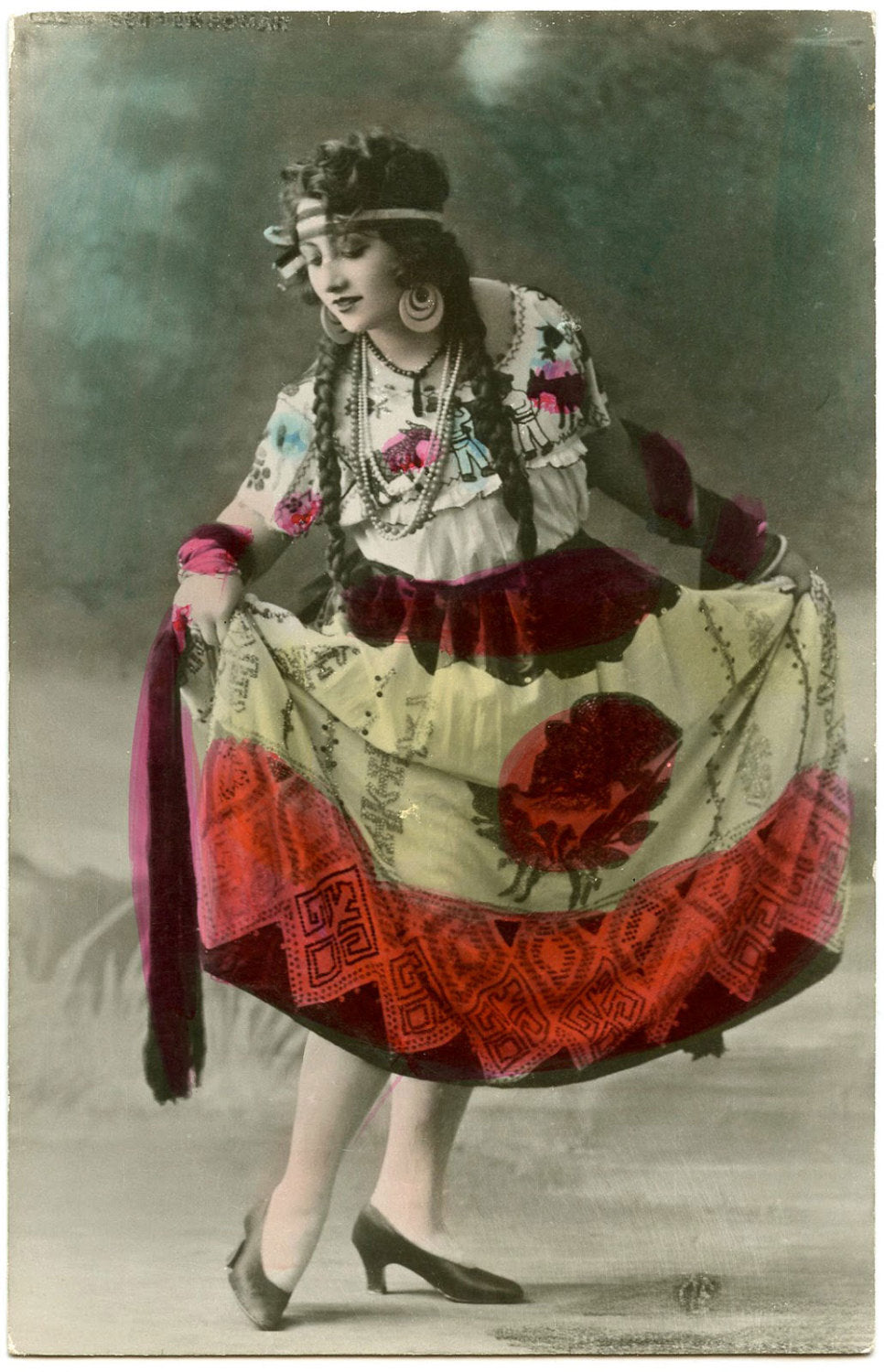Spanish Dancer Art Print