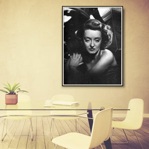 Bette Davis Dark Victory Publicity Photo Reprint Framed Hanging In A Conference Room
