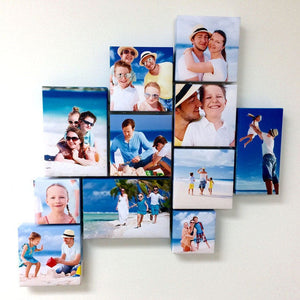 Gallery Wrapped Canvas Photo Wall Collage