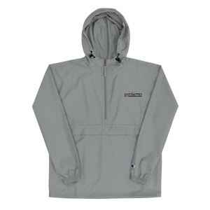 Wave Check x Champion Embroidered  Packable Jacket