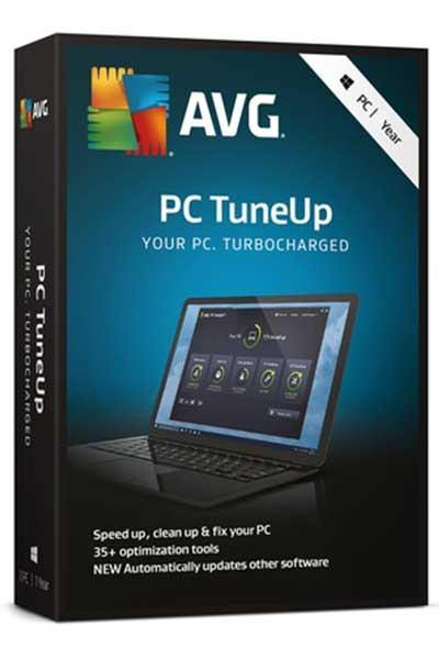 AVG TUNEUP 2020 SPEED UP, CLEAN UP AND FIX YOUR PC - 2 YEARS LICENSE
