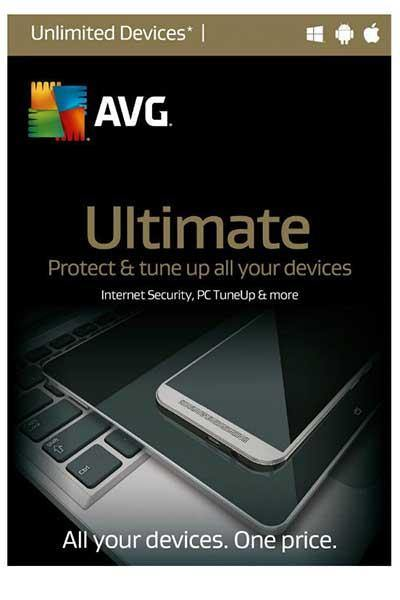 AVG ULTIMATE 2020 | ALL-IN-ONE ANTIVIRUS & TUNEUP | MULTI DEVICES 2 YEARS
