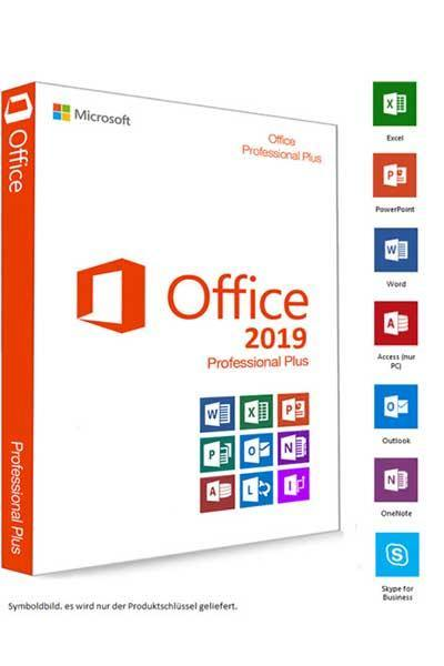 MICROSOFT OFFICE PROFESSIONAL PLUS 2019 - INSTANT DELIVERY - ORIGINAL NEW KEY CODE!