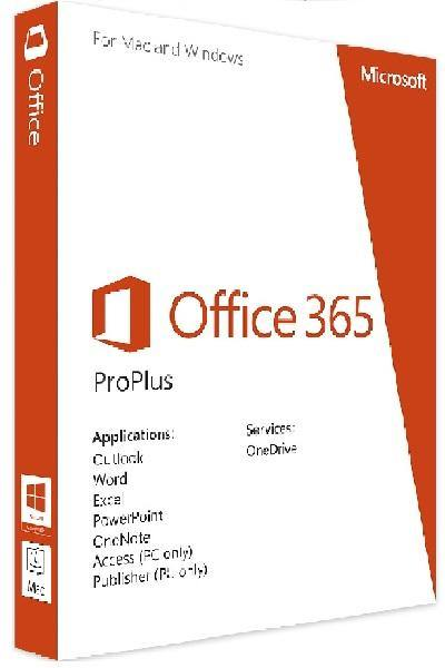 MICROSOFT OFFICE 365 PRO PLUS ACCOUNT - INSTANT DELIVERY - 1 YEAR - ORIGINAL NEW!