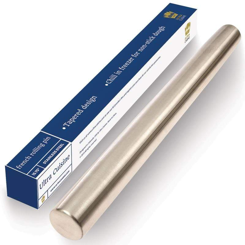 Professional Stainless Steel Rolling Pin (Classic)
