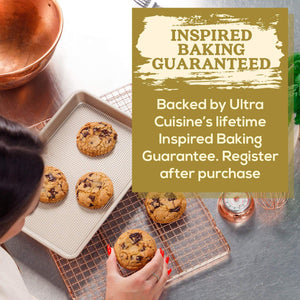 "Ultra Cuisine Quarter Sheet Baking Pan Nonstick - 9"" x 13"""
