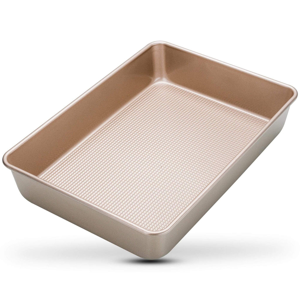 "Ultra Cuisine Rectangular Cake Baking Pan Nonstick - 9"" x 13"" Baking Pan"