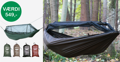 Weekend konkurrence DD Frontline Hammock