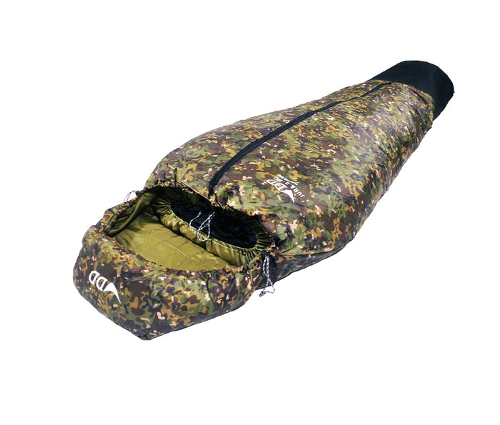 DD Jura 2 sovepose i MultiCam - DD Hammocks - Højre side
