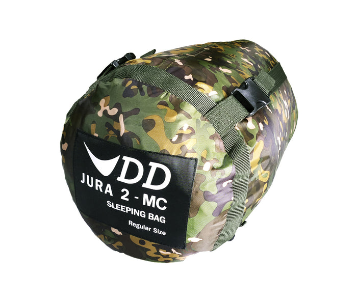 DD Jura 2 sovepose i MultiCam - DD Hammocks - Pakkepose