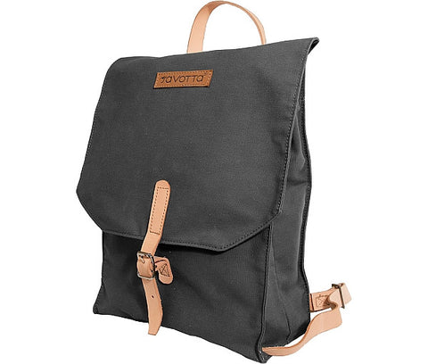 Savotta Backpack 101, Sort