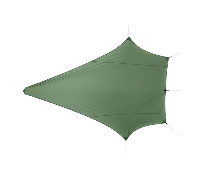 Nordisk Voss Diamond PU, Dusty Green - oppefra