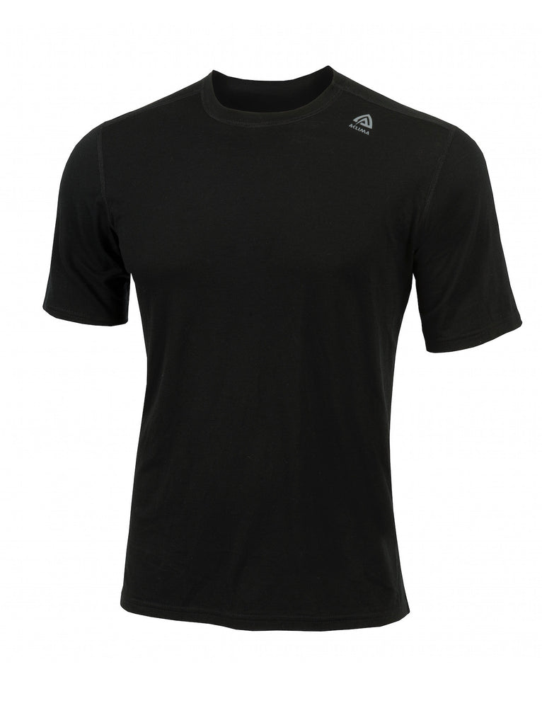 Aclima Light Wool Men's Classic T-Shirt JetBlack