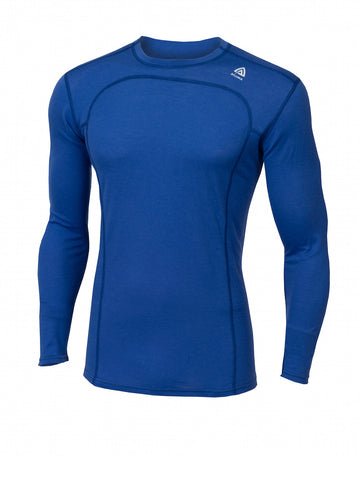 ACLIMA LightWool Men's Crew Neck Shirt - DazzlingBlue