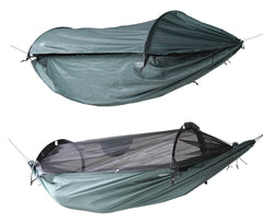 DD Superlight Jungle Hammock med og uden Canopy