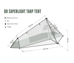 DD SuperLight Tarp Tent