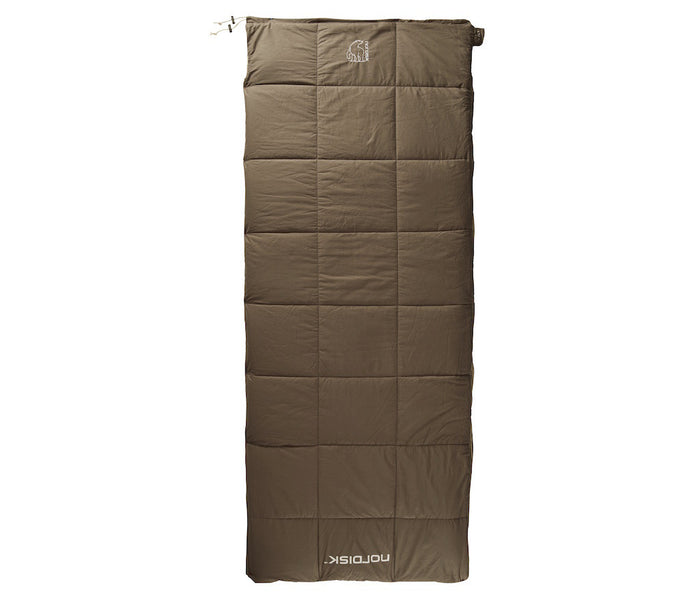 Nordisk Almond +10° sovepose top lukket
