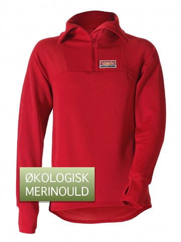 Ruskovilla Outdoor Shirt, rød