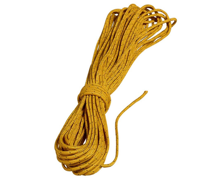 Nordisk Polyester Guy Rope 3 mm tykt - 15 m langt