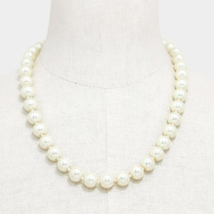 Kamela One Strand 10mm Pearl