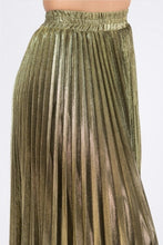 Load image into Gallery viewer, Goldanna Pleated Skirt