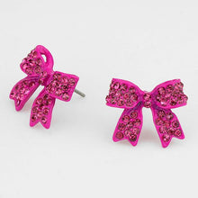 Load image into Gallery viewer, Maddison Bow Earrings