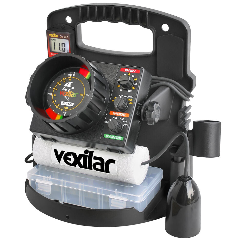 Vexilar PP1812 FL-18 Pro Pack II With 12° Ice-Ducer -- Free Shipping