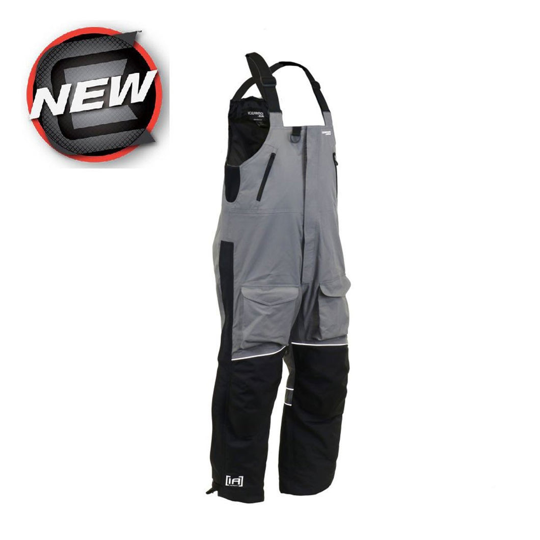 CLAM Men's IceArmor Ascent Float Bib Charcoal/Black -- Shipping INCLUDED!