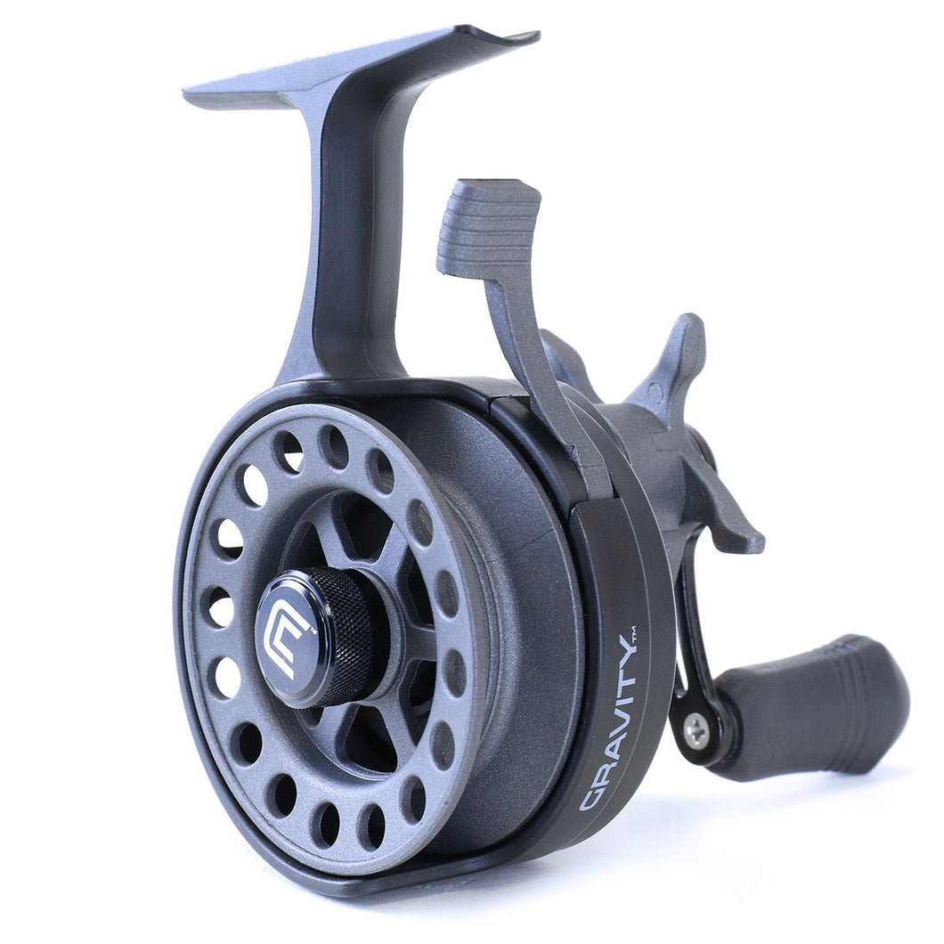 Clam Gravity Reel - Graphite