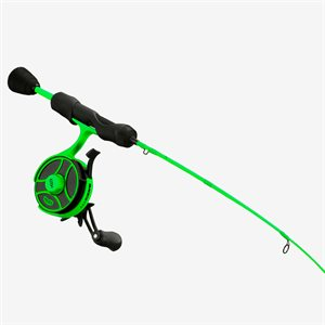 13 Fishing® Radioactive Pickle Ice Fishing Combo -- Free Shipping! -- 10% off 'till 12/06/20.  Use Discount code 13FISHING at checkout screen to get discount