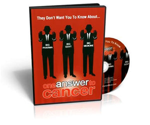 One Answer to Cancer DVD, includes Shipping Australia Wide
