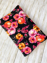 Load image into Gallery viewer, Pink & Orange Floral Fabric