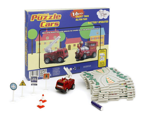 Puzzle Cars - Fire Engine