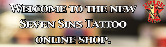 Seven Sins Tattoo Slide for online store