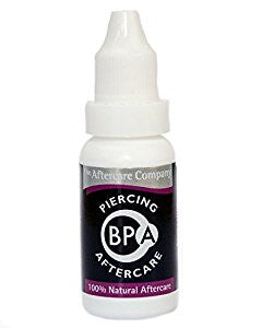 BPA Piercing Aftercare