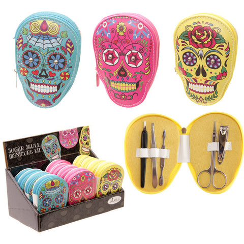 Day of the Dead Skull Manicure Set