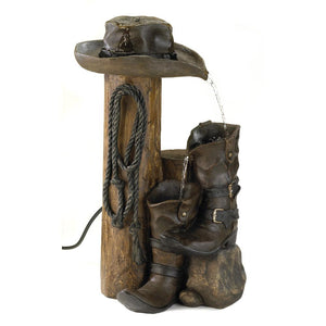 Wild Western Water Fountain (Pump Incl.)