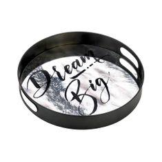 Positano Dream Big Large Mirror Tray