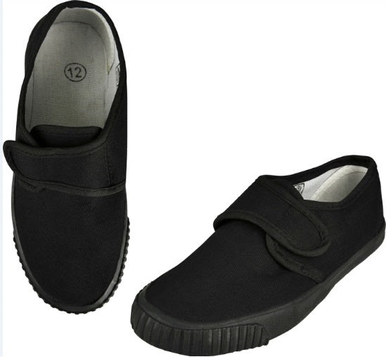 Plimsolls with Velcro Strap