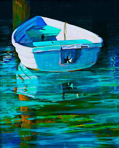 Row Boat Blue
