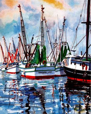 13 - Shrimp Boats